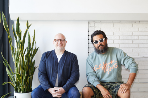 Barney Waters and Garrett Leight (Photo: Business Wire)