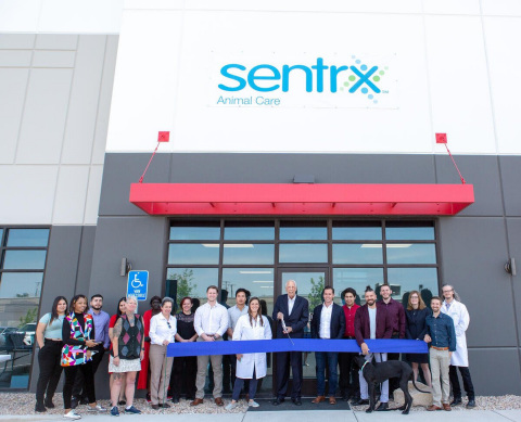 Sentrx ribbon-cutting ceremony for new facility in Salt Lake City, Utah (Photo: Business Wire)