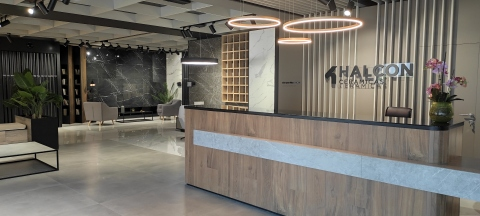 New Halcón Cerámicas showroom opened in Alcora (Castellón) in May of 2021