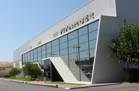 The headquarters and operational facility of Cicogres, located in Vilafamés (Castellón)
