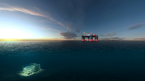 Jansz-Io Compression project - Field Control Station and Subsea Compression Station. (Photo: Business Wire)