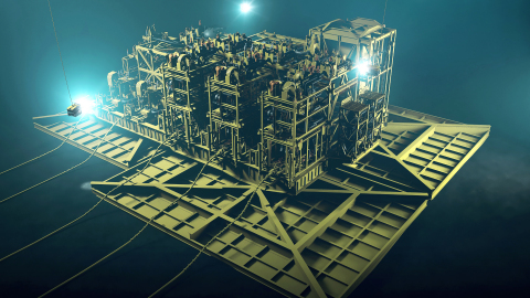 Jansz-Io Compression project - Subsea Compression Station. (Photo: Business Wire)