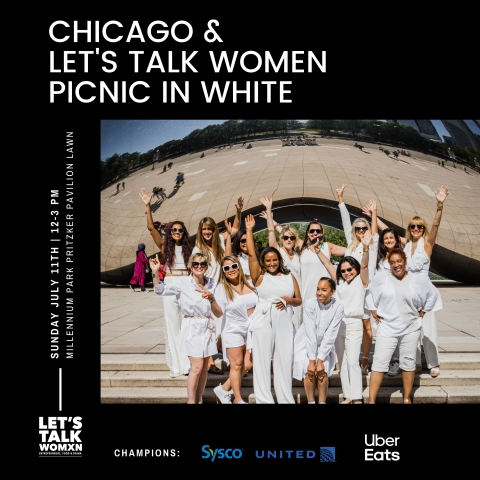 Chicago women restaurateurs participating in the Chicago & Let's Talk Women Picnic in White happening at Millennium Park on Sunday, July 11, 2021. (Photo: Business Wire)