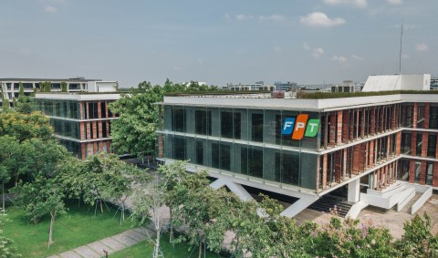FPT Software's campus in Hanoi, Vietnam (Photo: Business Wire)
