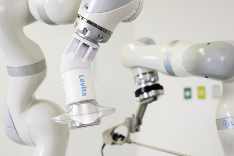 The Levita Robotic Platform is intended to deliver the clinical benefits of the company's first commercial product, the Levita Magnetic Surgical System, including less pain, faster recovery and fewer scars for patients. (Photo: Business Wire)