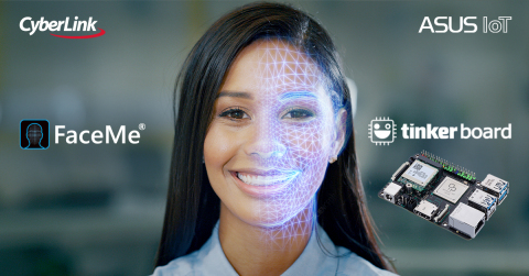 CyberLink's Facial Recognition Technology Partners with ASUS Edge Computing Single-board Computers to Create Smart IoT/AIoT Applications (Photo: Business Wire)