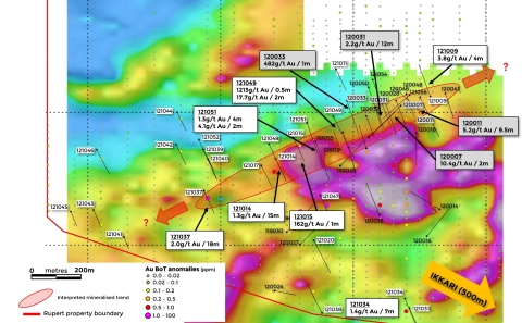 Figure 2. Location of new drilling results at the Heinä South target (Graphic: Business Wire)