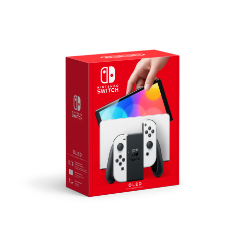 On Oct. 8, Nintendo Switch (OLED model), which has a vibrant 7-inch OLED screen with vivid colors and crisp contrast, will launch at a suggested retail price of $349.99, giving people another option for how they want to play the vast library of games on Nintendo Switch. (Photo: Business Wire)