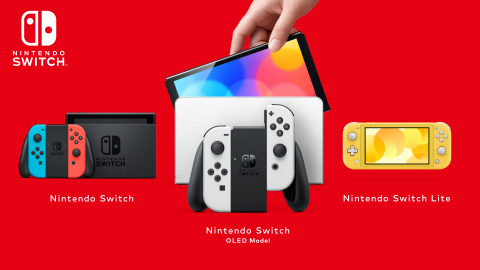 On Oct. 8, Nintendo Switch (OLED model), which has a vibrant 7-inch OLED screen with vivid colors and crisp contrast, will launch at a suggested retail price of $349.99, giving people another option for how they want to play the vast library of games on Nintendo Switch. It joins Nintendo Switch and Nintendo Switch Lite as the newest member of the Nintendo Switch family of systems. (Photo: Business Wire)