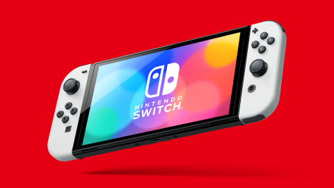Nintendo Switch (OLED model) has a similar overall size to the Nintendo Switch system, but with a larger, vibrant 7-inch OLED screen with vivid colors and crisp contrast. (Photo: Business Wire)