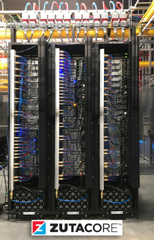 ZutaCore HyperCool Installed: Direct-on-Chip, 2-Phase, Waterless, Liquid Cooling In Action (Photo: Business Wire)