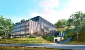 Impression of the future finished biotech development center (Photo: Business Wire)