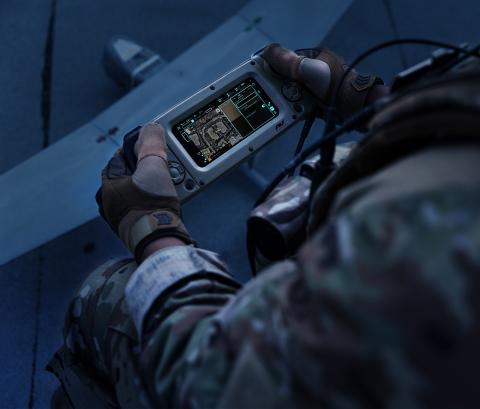 AeroVironment's new Crysalis Ground Control Solution (Photo: AeroVironment, Inc.)