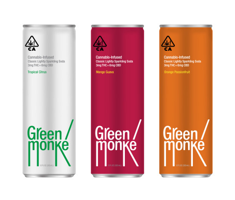 With three summer-loving flavors–Tropical Citrus, Orange Passionfruit and Mango Guava–Green Monké can hang without the hangover thanks to its 3mg THC and 6mg CBD for fast effects that deliver the party. (Photo: Business Wire)