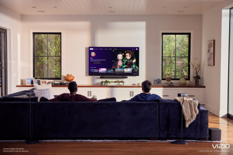 Funimation is coming to VIZIO SmartCast (Photo: Business Wire)