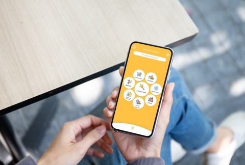 Orange Business Services manages Glovo's international call collection for merchants and customer support through Contact Center Access. (Photo credit: Orange Business Services)