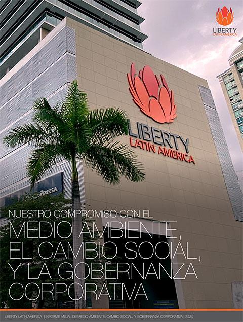 Nuestro compromiso con el medio ambiente, el cambio social, y la gobernanza corporativa, Liberty Latin America, Informe Anual 2020