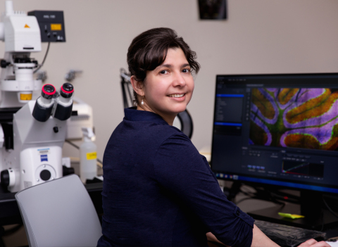 Damaris Lorenzo, PhD, assistant professor in the UNC Department of Cell Biology and member of the UNC Neuroscience Center at the UNC School of Medicine. (Photo: Business Wire)
