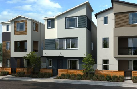 KB Home announces the grand opening of Row Homes at Lacy Crossing, a new community in a prime Orange County location. (Graphic: Business Wire)