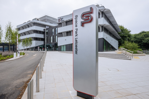 AST SpaceMobile's UK headquarters in the new Space Park Leicester complex. (Photo: Business Wire)