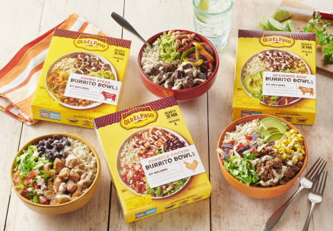 Old El Paso helps families take mealtimes to the next level with its delicious, convenient Tex-Mex meal kits, which gets a restaurant-quality dinner on the table in under 30 minutes. (Photo: Business Wire)