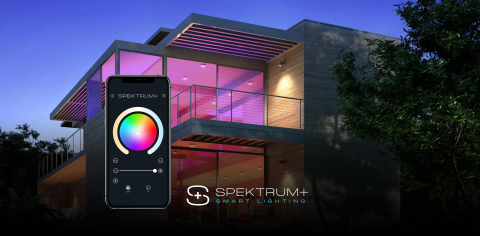 American Lighting Introduces the State-of-the-Art Spektrum+ Product Line, the Latest in Whole Home Smart Lighting (Photo: Business Wire)