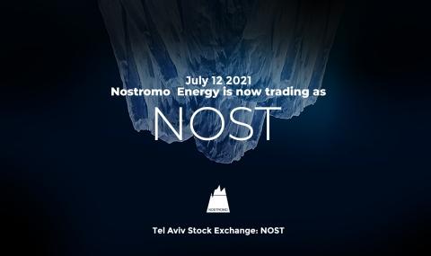 NOST - Nostromo's new ticker on the Tel Aviv Stock Exchange (Photo: Nostromo)