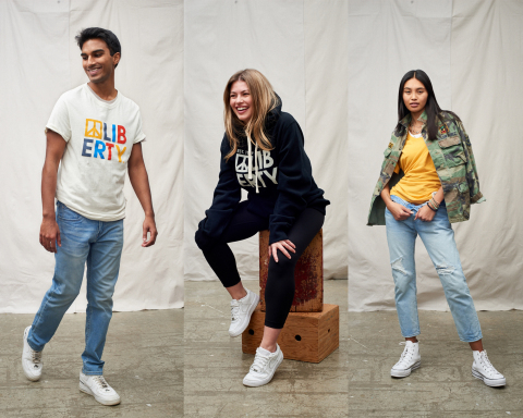 Liberty Clothing creates high-quality, affordable apparel for everyday wear, with sustainability at the core. (Photo: Business Wire)