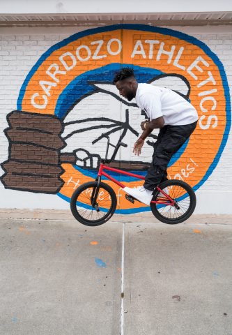 Professional BMX Athlete to Design a Recovery Room at High School Alma Mater in Queens, NY (Photo: Business Wire)