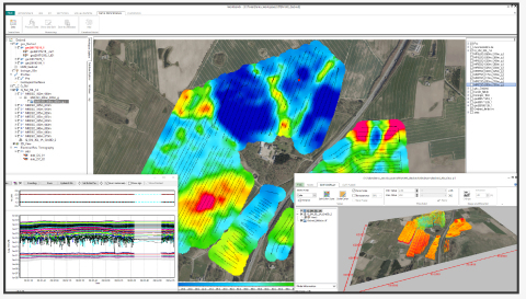 AGS Workbench is a comprehensive software package for processing, inversion, and visualization of geophysical and geological data. (Photo: Business Wire)