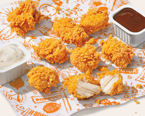 Popeyes® Makes the Next Big Move in the Chicken Game Announcing New Chicken Nuggets Nationwide on July 27th (Photo: Business Wire)