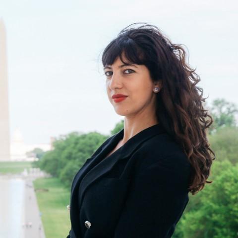 Sonia Dridi, journalist & Washington DC correspondent for France 24 and Europe 1 (Photo:WEA)