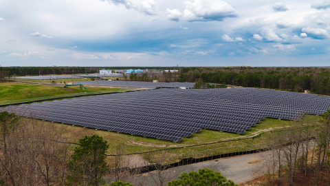 New Jersey's largest solar project goes live in Toms River. (Photo: Business Wire)