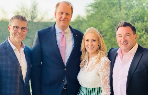 Pictured (l. to r.): Ryan Cain, President, NRC; Andrew Rothermel, Chief Executive Officer, BRC Healthcare; Marsha Stone, Founder and Chief Strategy Officer, BRC Healthcare; Darren Hobbs, Co-Founder, NRC (Photo: Business Wire).