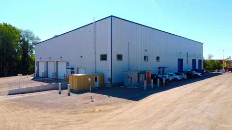 An outside look at StormFisher's newly built resource recovery facility in Drumbo, Ontario. (Photo: Business Wire)