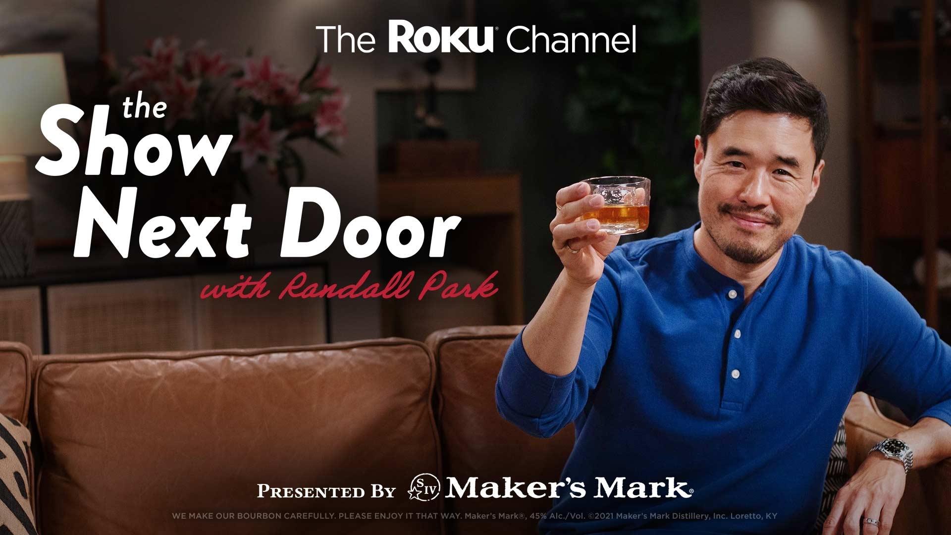"Roku is premiering a new weekly talk show, ""The Show Next Door"""