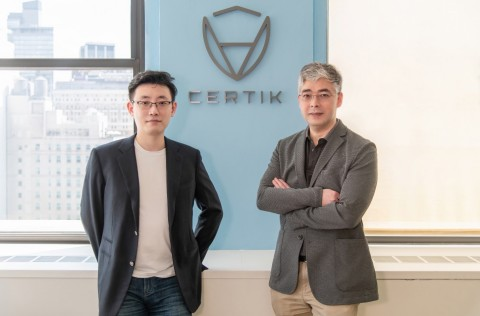 Columbia Professor Ronghui Gu (left), and Yale Professor Zhong Shao (right), cofounders of CertiK (Photo: Business Wire)