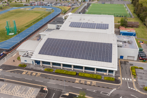 Through their partnership with cleantech integrator, Ameresco, Carmarthenshire County Council will benefit from implemented infrastructure upgrades that will help the council achieve its goal of reaching zero carbon emissions by 2030. (Graphic: Business Wire)