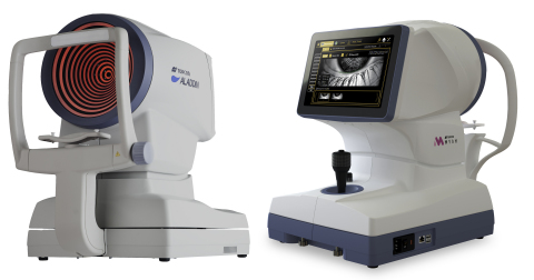 The ALADDIN Biometer and MYAH Biometer/Corneal Topographer. (Photo: Business Wire)