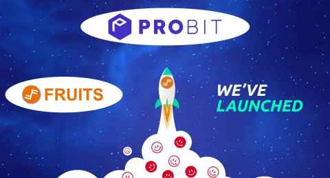 Fruits (FRTS) has been listed on ProBit Global, one of the top crypto exchanges. (Graphic: Business Wire)