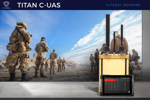 Citadel Defense is transforming modern warfare with paradigm-shifting solutions that combine artificial intelligence, machine learning, autonomy, and adaptive electronic attacks in order to prevent nefarious drones from negatively impacting critical security missions. (Photo: Business Wire)