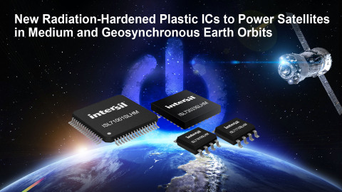 New Radiation-Hardened Plastic ICs to Power Satellites in Medium and Geosynchronous Earth Orbits (Graphic: Business Wire)