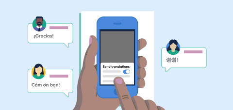 Remind's preferred language translation is the only tool of its kind to enable two-way translations that allow parents and students to receive and respond to messages in their home language. (Graphic: Business Wire)