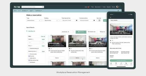 ServiceNow® Workplace Reservation Management (Photo: Business Wire)