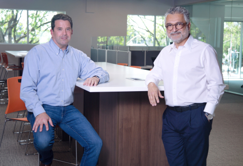Mike Buck, CEO of TRUVIC (left); Fred Khosravi, Chairman and CEO of Imperative Care (right) (Photo: Business Wire)