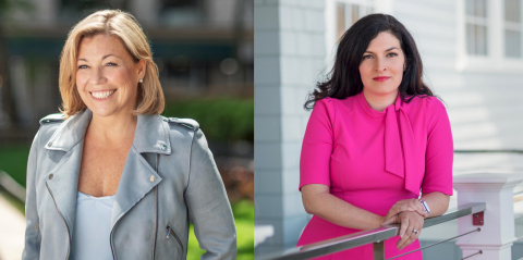 Amy Dolan (left) appointed as Chief People Officer and Maggie Libatique (right) as Chief Financial Officer at Daversa Partners (Photo: Business Wire)