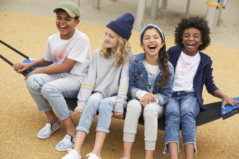 Relevant styles, cool details, great accessories, and all the colors in the rainbow keep the Thereabouts brand fresh and fun for kids' ever-changing styles and identities. (Photo: Business Wire)