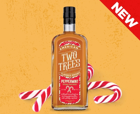 Two Trees Peppermint Flavored Whiskey (Photo: Business Wire)