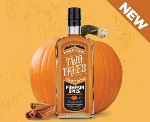 Two Trees Pumpkin Spice Flavored Whiskey (Photo: Business Wire)
