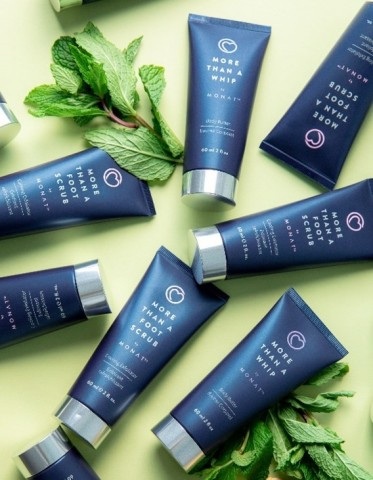 MONAT Gratitude raised more than $750,000 through sales of its limited-edition MONAT Gratitude Treat for Your Feet Duo. (Photo: Business Wire)